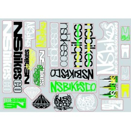 NS Bikes Stickerset 2012