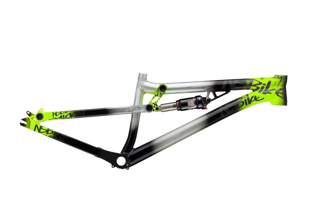 Jetzt NS Bikes Soda Slope Rahmen / Framekit 2014 Raw / Lime und ...
