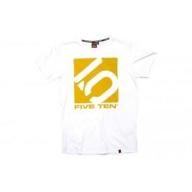 Five Ten T-Shirt Logo weiß