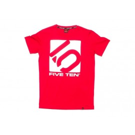 Five Ten T-Shirt Logo rot