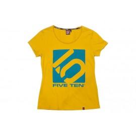 Five Ten T-Shirt Logo Women gelb