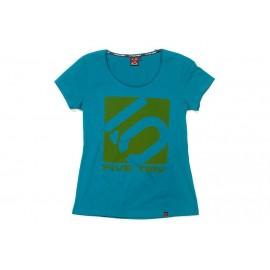 Five Ten T-Shirt Logo Women blau