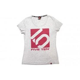 Five Ten T-Shirt Logo Women grau
