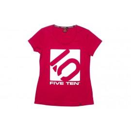 Five Ten T-Shirt Logo Women pink