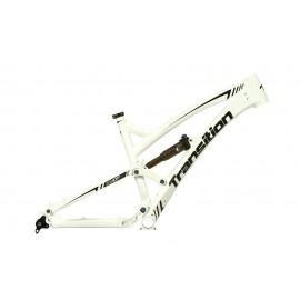 Transition Bikes Covert Carbon 2013 Weiß L ohne Dämpfer