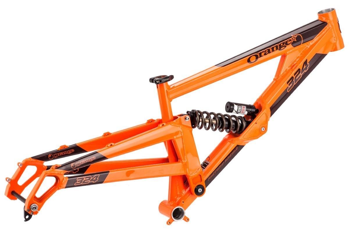 Jetzt Orange 324 DH Rahmen 27,5\