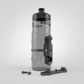 Fidlock Bottle Twist Trinkflsche 600ml magnetischer Trinkflaschenhalter smoke