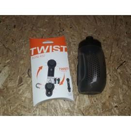 Fidlock Bottle Twist Trinkflsche 450ml magnetischer Trinkflaschenhalter smoke