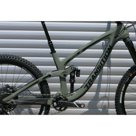 Transition 2019 PATROL Carbon Rahmenkit inkl. Fox DPX2 Performance Elite - grau