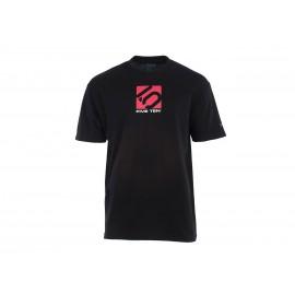 Five Ten T-Shirt 3 Line schwarz