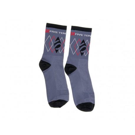 Five Ten Argyle Socks Socken Strümpfe schwarz/grau