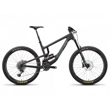 """Santa Cruz Nomad Carbon CC X01 Komplettbike V4 Rahmen 27,5"""" - 170mm - Modell 2019 - schwarz"""