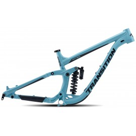 Transition 2020 PATROL Alu Rahmenkit inkl. Rock Shox Super Deluxe Coil Ultimate - blau