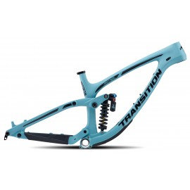Transition 2020 PATROL Carbon Rahmenkit inkl. Fox DHX2 Coil Factory 2 pos - blau