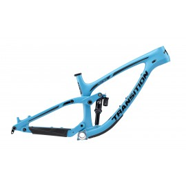 Transition 2019 PATROL Carbon Rahmenkit inkl. Fox DPX2 Performance Elite - blau