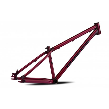 "Transition Bikes Rahmen PBJ Dirtjump 26"" 2020 rot"