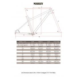 "Ragley Marley Hardtail 2020 Rahmen 27,5"""