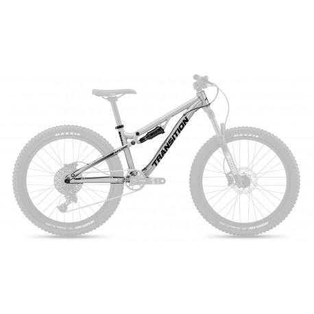 Transition Bikes 2021 Ripcord Rahmenkit silber
