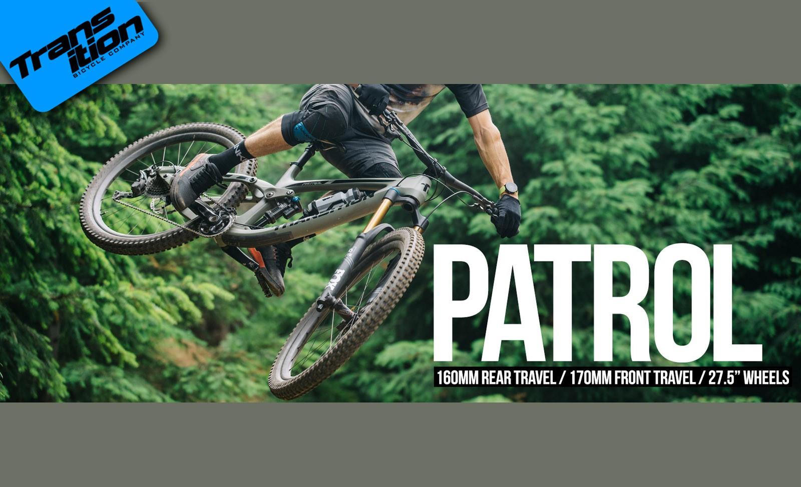 Transition Patrol Rahmen 2019 Special